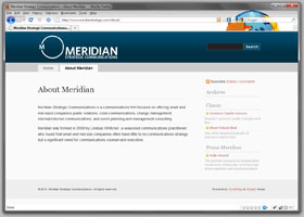 Meridian Strategic Communications
